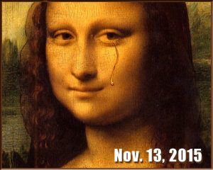 Mona Lisa tears